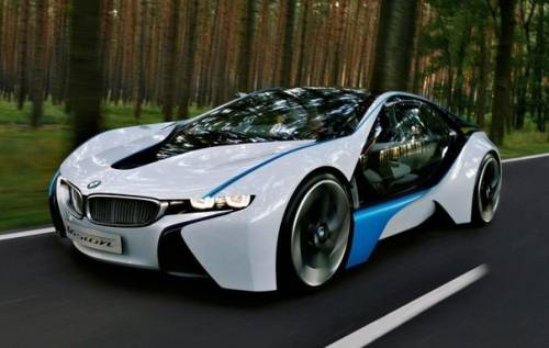 Bmw vision efficienct dynamics concept